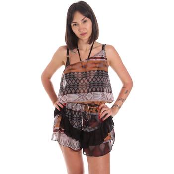 Oblačila Ženske Kombinezoni Me Fui M20-0060X1 Rjav