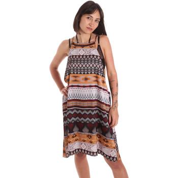 Oblačila Ženske Tunike Me Fui M20-0081X1 Rjav