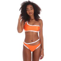 Oblačila Ženske Enodelne kopalke Me Fui M20-0310AR Oranžna