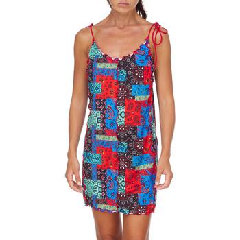 Oblačila Ženske Kratke obleke Me Fui M20-0361X1 Rdeča