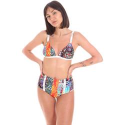 Oblačila Ženske Dvodelne kopalke Me Fui M20-0313X1 Oranžna