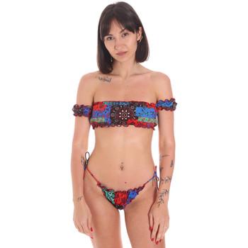 Oblačila Ženske Dvodelne kopalke Me Fui M20-0346U Rdeča