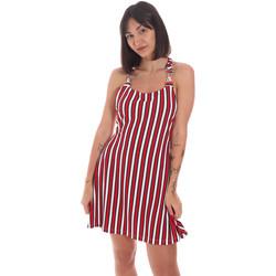 Oblačila Ženske Kratke obleke Me Fui M20-0364U Rdeča