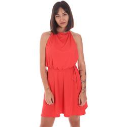 Oblačila Ženske Kratke obleke Me Fui M20-0371AR Rdeča
