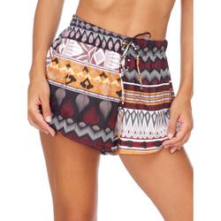 Oblačila Ženske Kratke hlače & Bermuda Me Fui M20-0054X1 Rjav