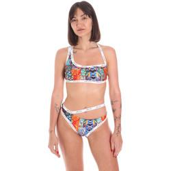 Oblačila Ženske Dvodelne kopalke Me Fui M20-03009X1 Oranžna