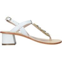 Čevlji  Ženske Sandali & Odprti čevlji Keys K-5170 Biely