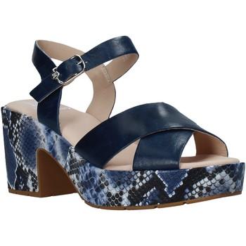Čevlji  Ženske Sandali & Odprti čevlji CallagHan 28800 Modra
