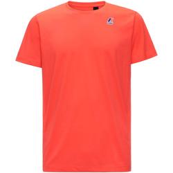Oblačila Moški Majice s kratkimi rokavi K-Way K007JE0 Rdeča