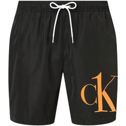 Oblačila Moški Kratke hlače & Bermuda Calvin Klein Jeans KM0KM00590 Črna