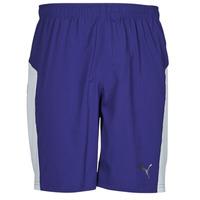 Oblačila Moški Kratke hlače & Bermuda Puma WV RECY 9SHORT Modra / Bela