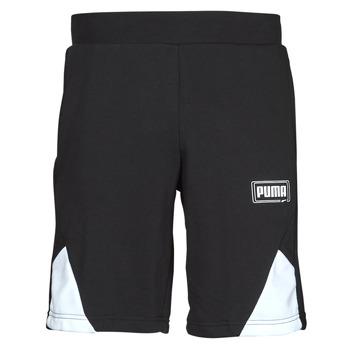 Oblačila Moški Kratke hlače & Bermuda Puma RBL SHORTS Črna / Bela