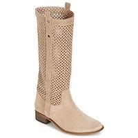 Čevlji  Ženske Mestni škornji    Betty London DIVOUI Bež