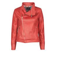 Oblačila Ženske Usnjene jakne & Sintetične jakne Desigual MARBLE Rdeča