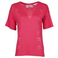 Oblačila Ženske Majice s kratkimi rokavi Desigual CLEMENTINE Rdeča