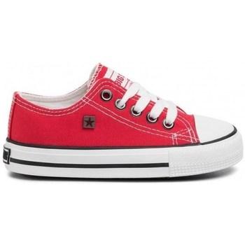 Čevlji  Otroci Nizke superge Big Star FF374201 Rdeča