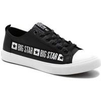 Čevlji  Moški Nizke superge Big Star EE174069 Črna