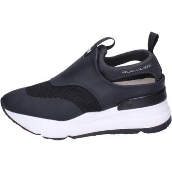 Čevlji  Ženske Slips on Rucoline BH357 Črna