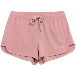 Oblačila Ženske Kratke hlače & Bermuda 4F SKDT001 Roza