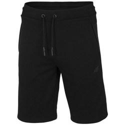 Oblačila Moški Kratke hlače & Bermuda 4F SKMD014 Črna