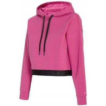 Oblačila Ženske Puloverji 4F BLD011 Roza