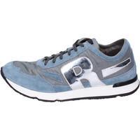 Čevlji  Moški Nizke superge Rucoline BH397 Modra