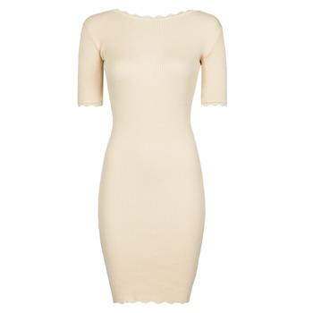 Oblačila Ženske Kratke obleke Yurban PAULINO Bež