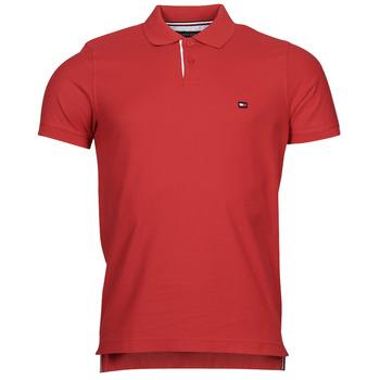 Oblačila Moški Polo majice kratki rokavi Tommy Hilfiger 1986 CONTRAST PLACKE, XLG Rdeča