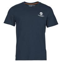 Oblačila Moški Majice s kratkimi rokavi Timberland CC ST TEE Modra