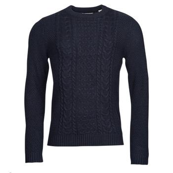 Oblačila Moški Puloverji Jack & Jones JJCRAIG Modra