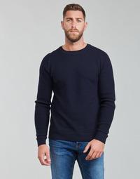 Oblačila Moški Puloverji Jack & Jones JPRBLADUSTIN Modra
