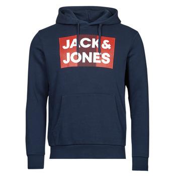Oblačila Moški Puloverji Jack & Jones JJECORP Modra