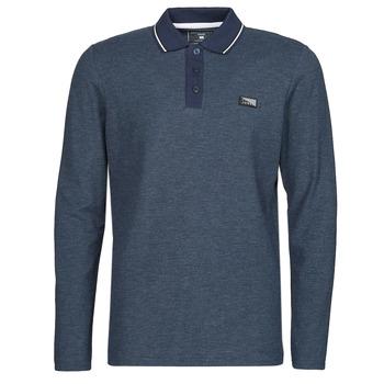 Oblačila Moški Polo majice dolgi rokavi Jack & Jones JCOCHARMING Modra