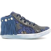 Čevlji  Deklice Visoke superge Lulu LS150014S Modra