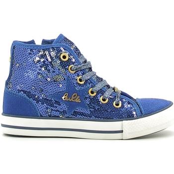 Čevlji  Deklice Visoke superge Lulu LV010070T Modra