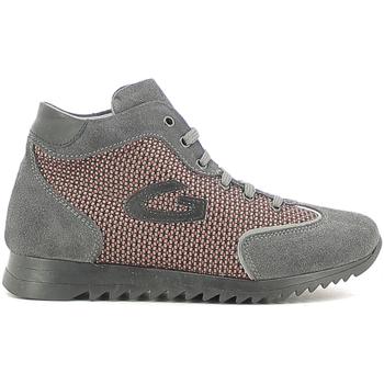 Čevlji  Deklice Visoke superge Alberto Guardiani GK22340G Siva