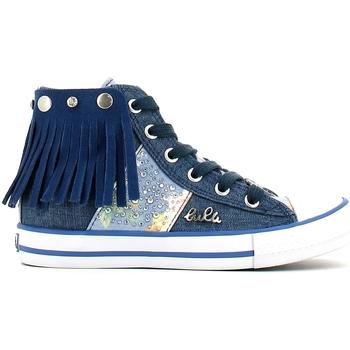 Čevlji  Deklice Visoke superge Lulu LV010060T Modra