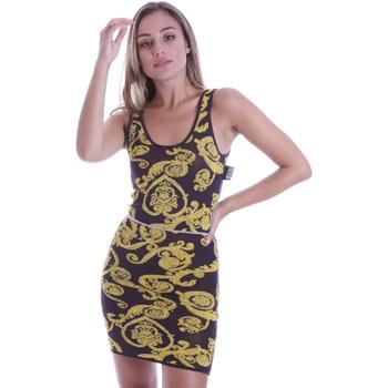 Oblačila Ženske Kratke obleke Versace B4HVB81050414KA9 Črna