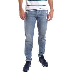 Oblačila Moški Kavbojke slim Sseinse PJE625SS Modra
