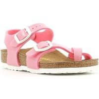 Čevlji  Deklice Sandali & Odprti čevlji Birkenstock 371603 Roza