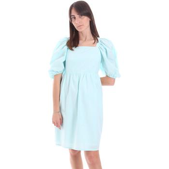 Oblačila Ženske Kratke obleke Fracomina F321SD1004W40001 Modra