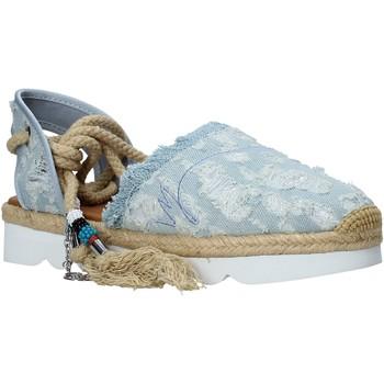 Čevlji  Ženske Espadrile Manila Grace S677DU Modra