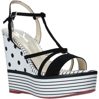 Čevlji  Ženske Sandali & Odprti čevlji Manila Grace S605LP Črna
