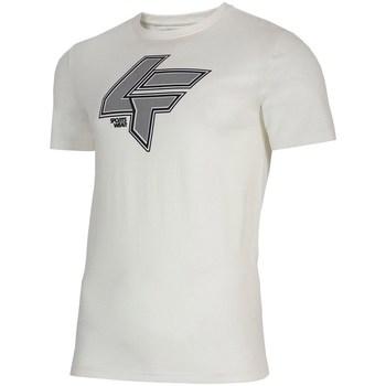 Oblačila Moški Majice s kratkimi rokavi 4F TSM010 Bela