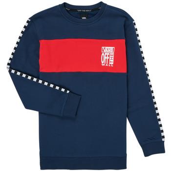 Oblačila Deklice Puloverji Vans SOLAL Modra / Rdeča