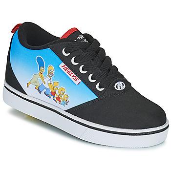 Čevlji  Otroci Čevlji s koleščki Heelys PRO 20 PRINTS Črna / Modra / Večbarvna