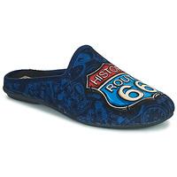 Čevlji  Moški Nogavice Rondinaud ROUTE 67 Modra