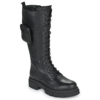 Čevlji  Ženske Mestni škornji    Fericelli PISA Črna