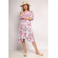 Oblačila Ženske Kratke obleke Fashion brands 9471-ROSE Rožnata
