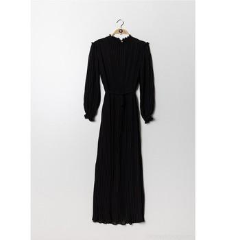 Oblačila Ženske Kratke obleke Fashion brands 9805-NOIR Črna
